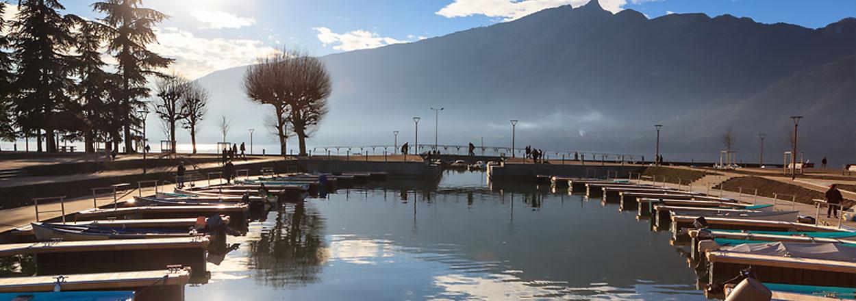port-barque-lac
